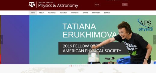 Top 80 Physics Schools