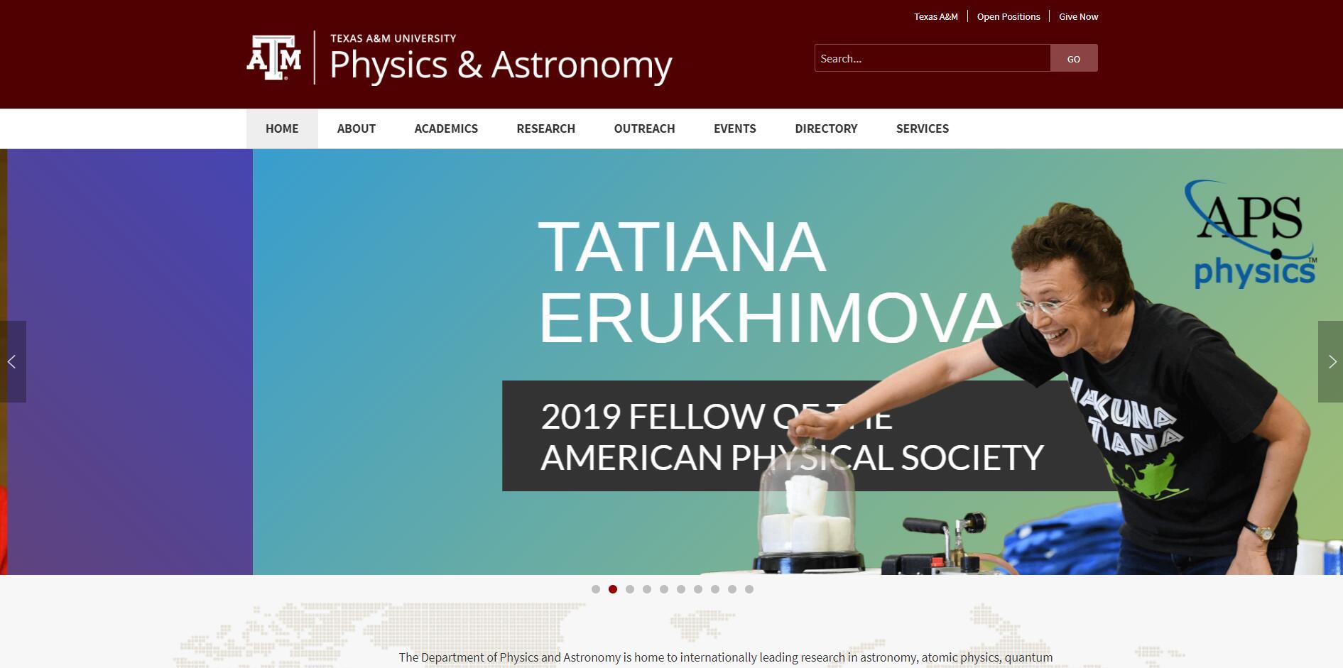 Top 80 Physics Schools