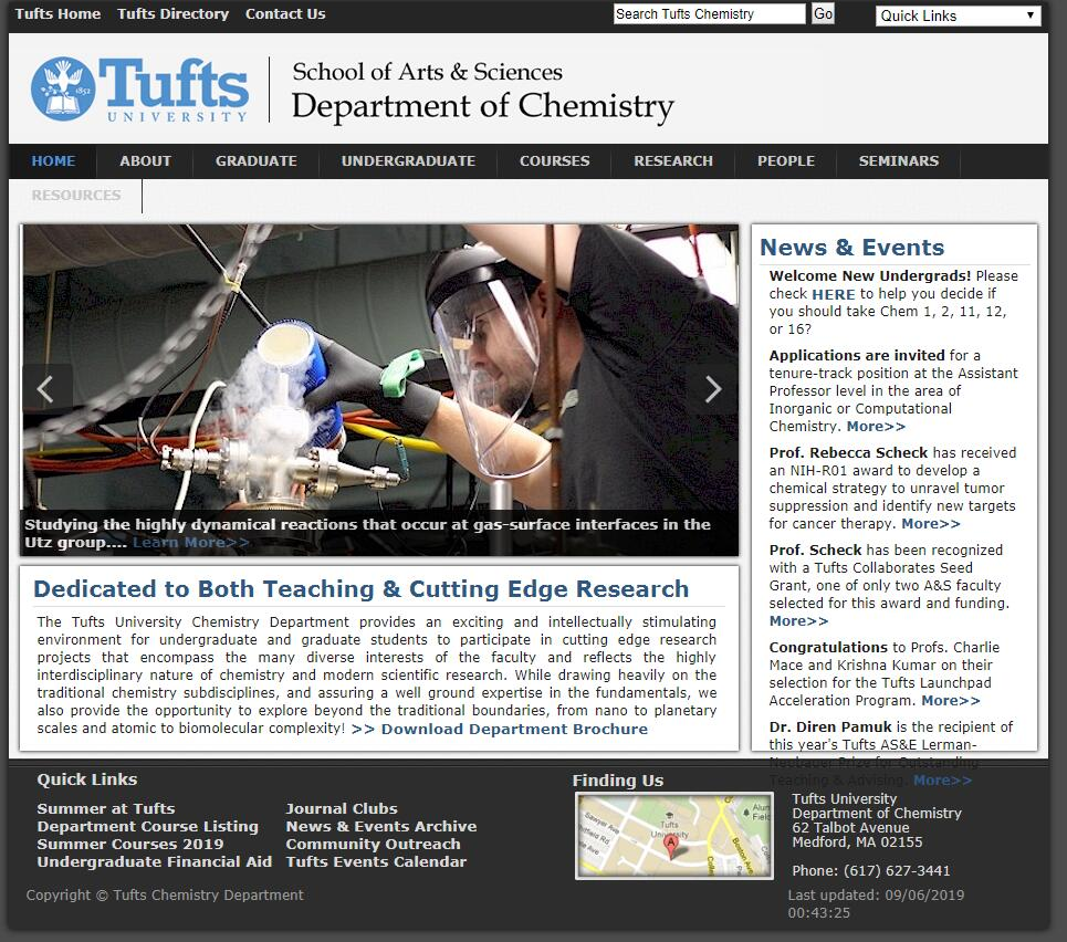 Top 90 Chemistry Schools