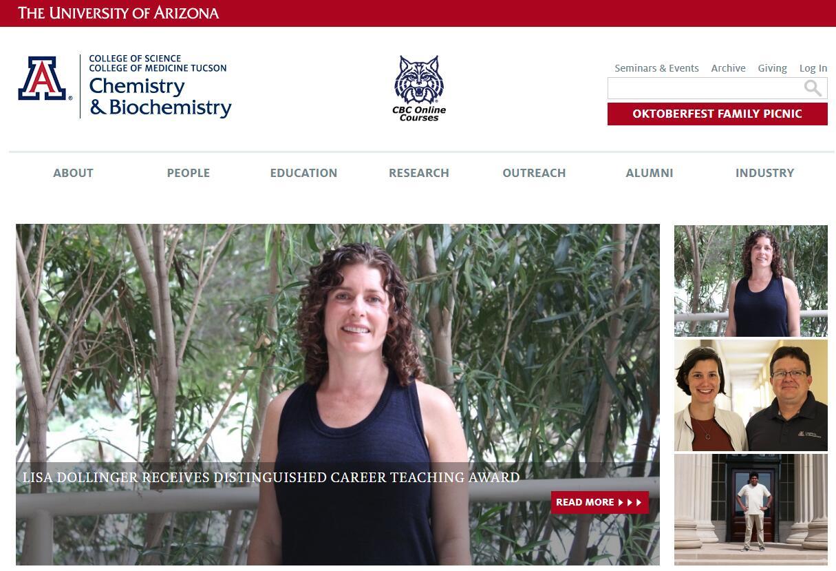 Top Chemistry Schools in Arizona