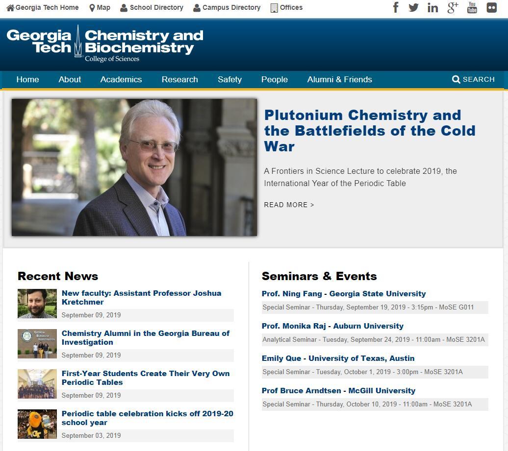 Top Chemistry Schools in Georgia
