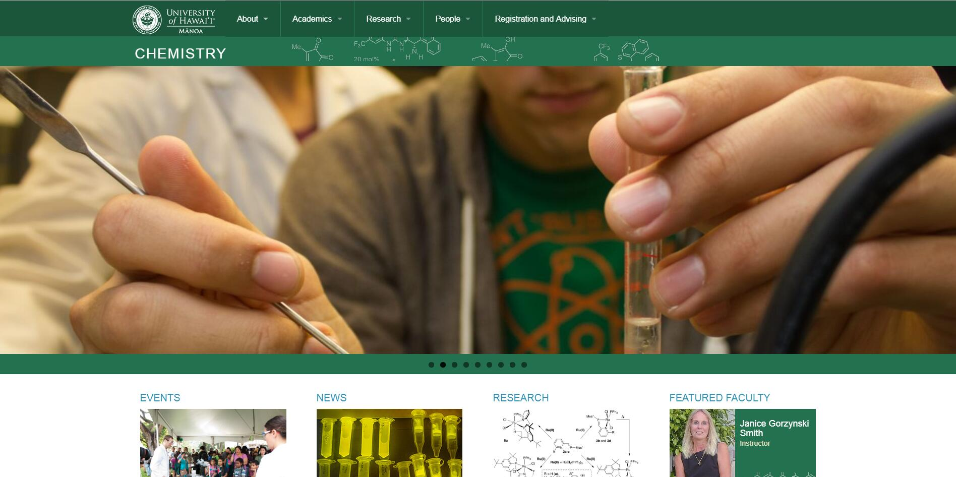 Top Chemistry Schools in Hawaii