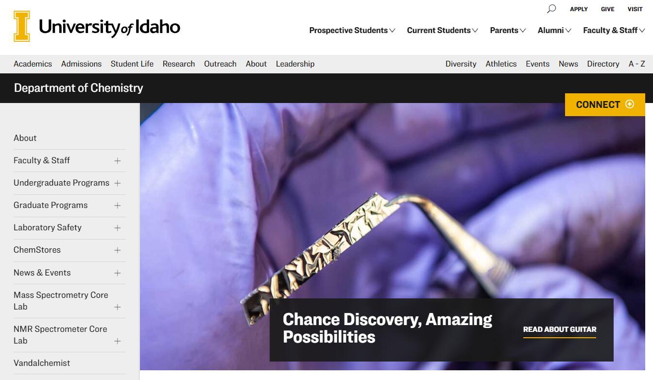 Top Chemistry Schools in Idaho