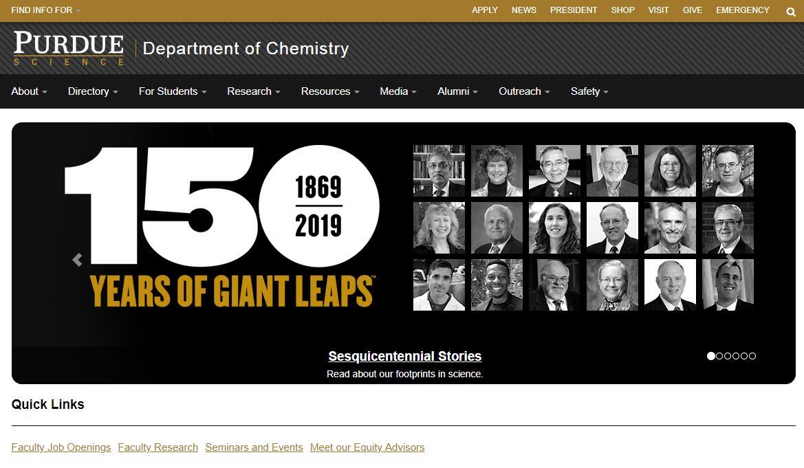 Top Chemistry Schools in Indiana