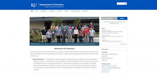 Top Chemistry Schools in Kansas