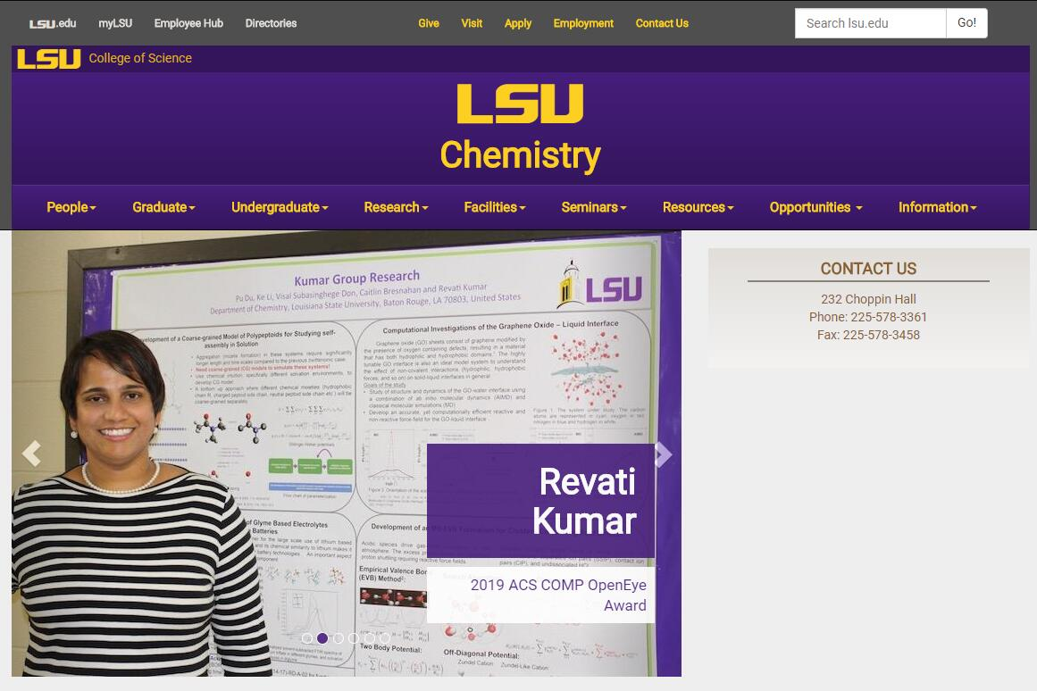 Top Chemistry Schools in Louisiana