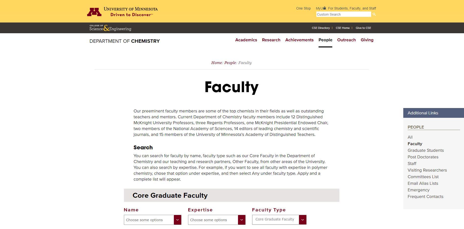 Top Chemistry Schools in Minnesota