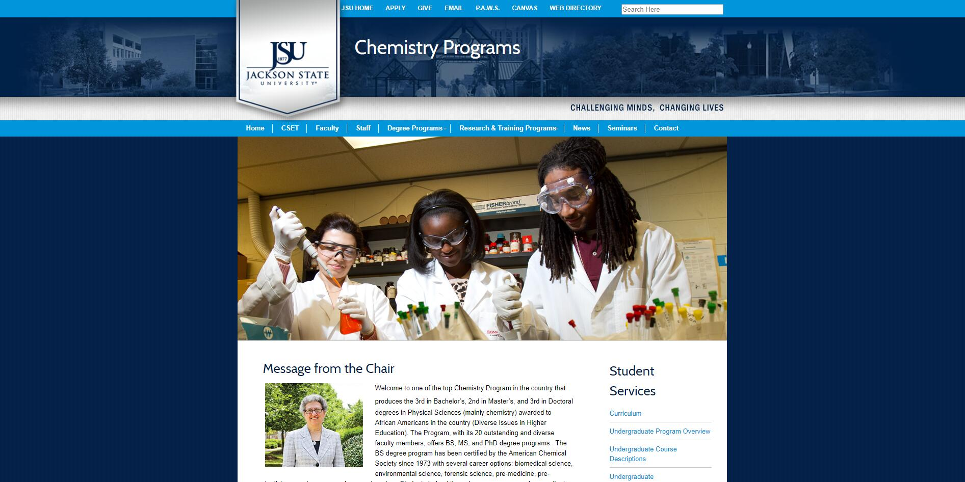 Top Chemistry Schools in Mississippi
