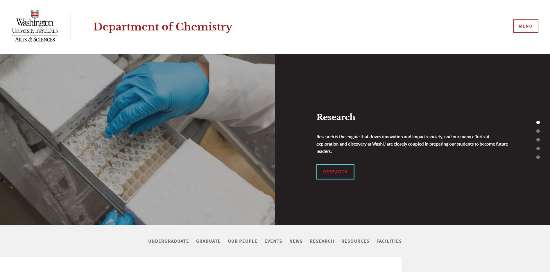Top Chemistry Schools in Missouri