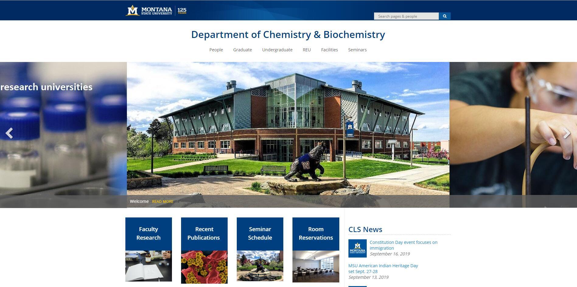 Top Chemistry Schools in Montana