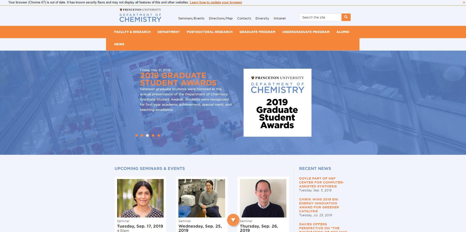 Top Chemistry Schools in New Jersey