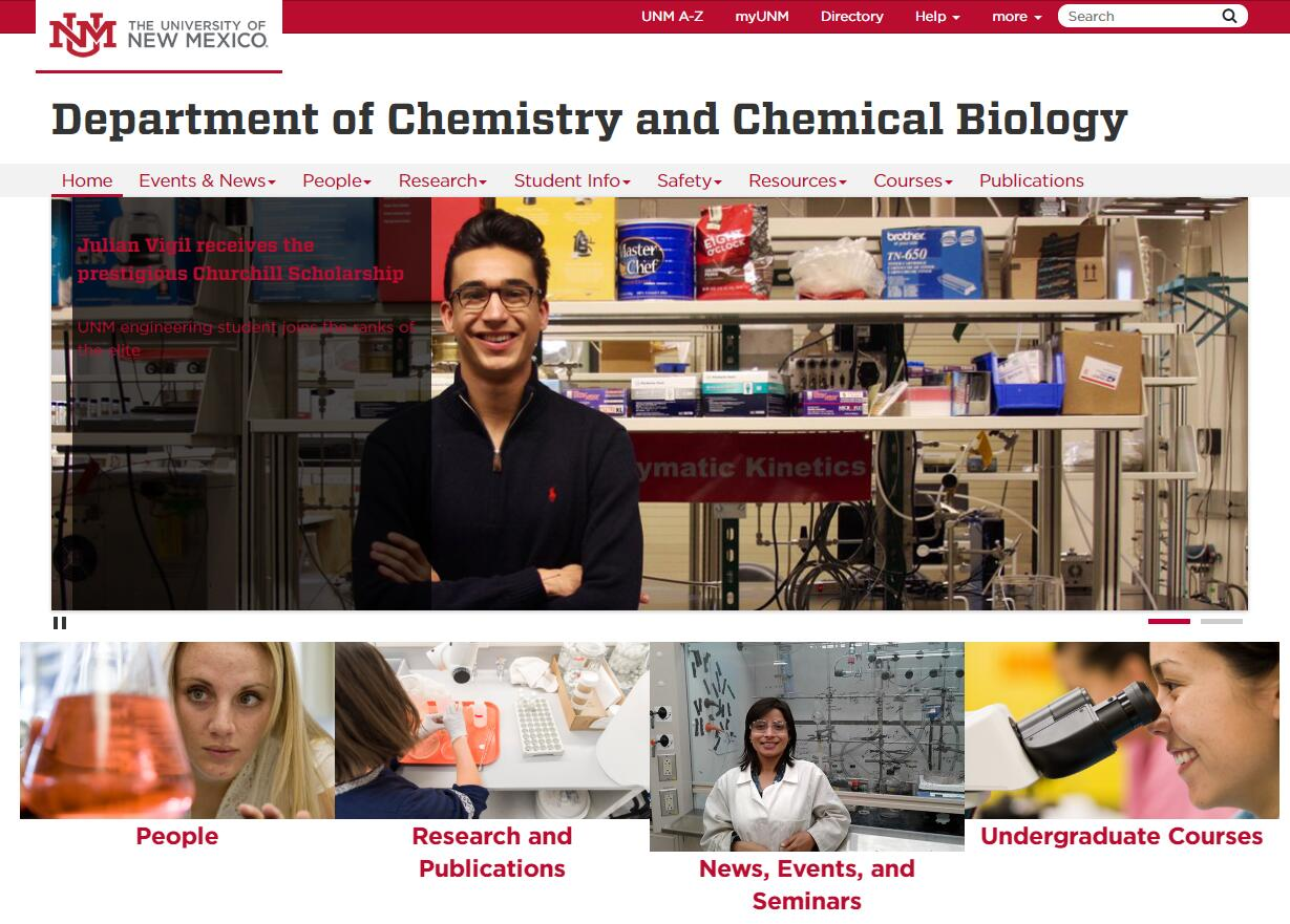 Top Chemistry Schools in New Mexico