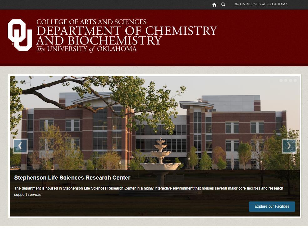 Top Chemistry Schools in Oklahoma