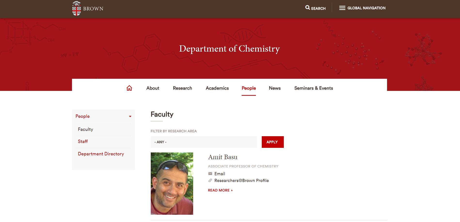 Top Chemistry Schools in Rhode Island