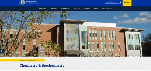 Top Chemistry Schools in South Dakota