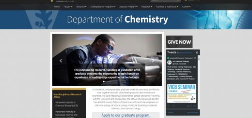 Top Chemistry Schools in Tennessee