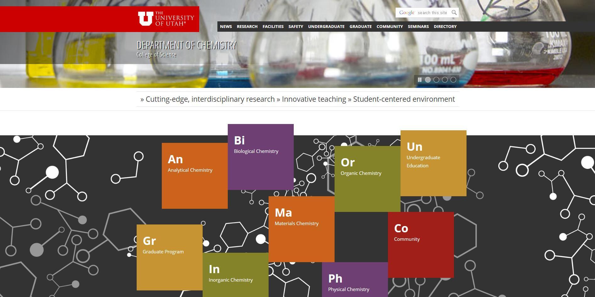 Top Chemistry Schools in Utah