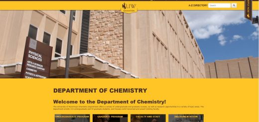 Top Chemistry Schools in Wyoming