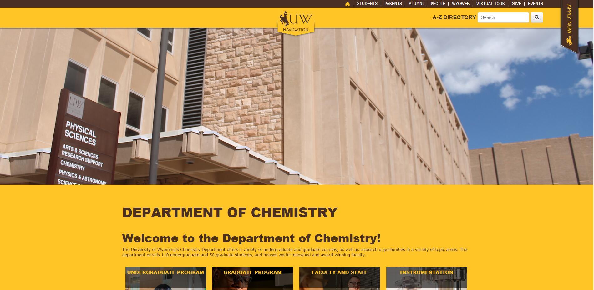 Top Chemistry Schools in Wyoming