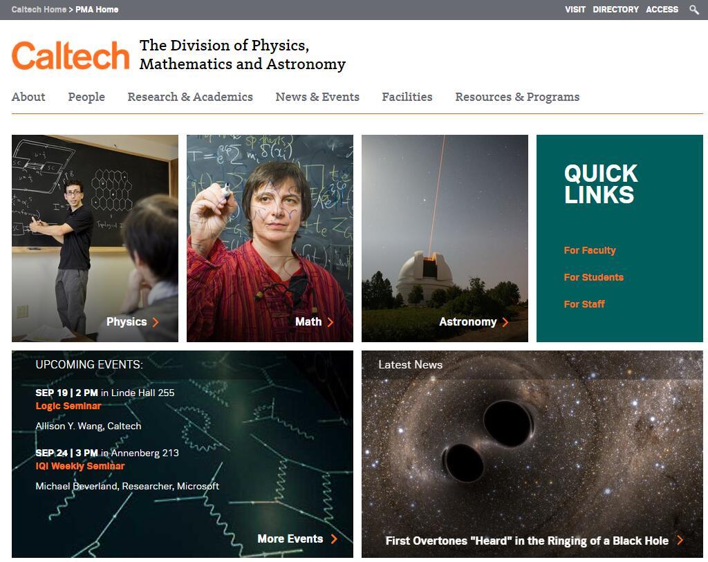 Top Physics Schools in California