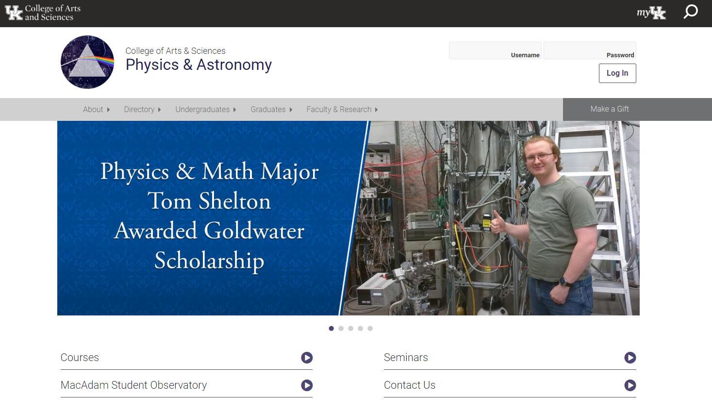 Top Physics Schools in Kentucky