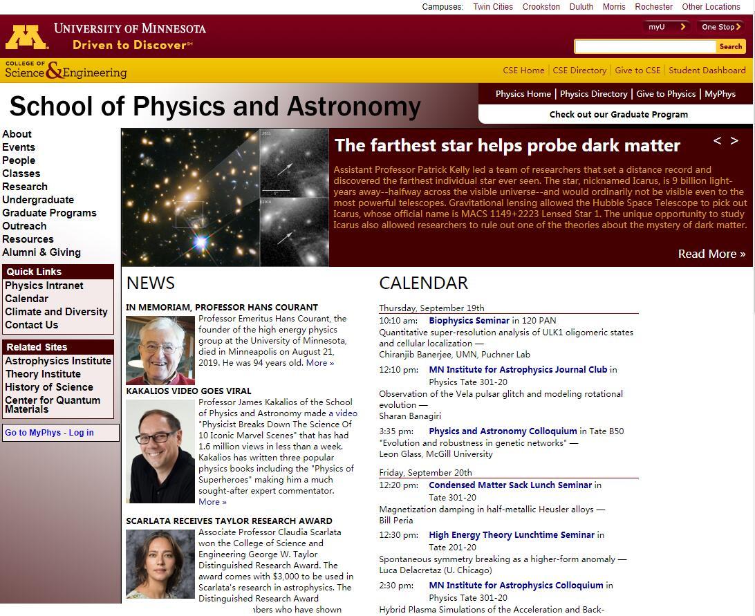 Top Physics Schools in Minnesota