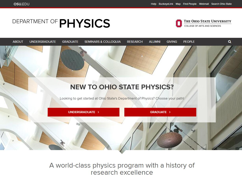 Top Physics Schools in Ohio