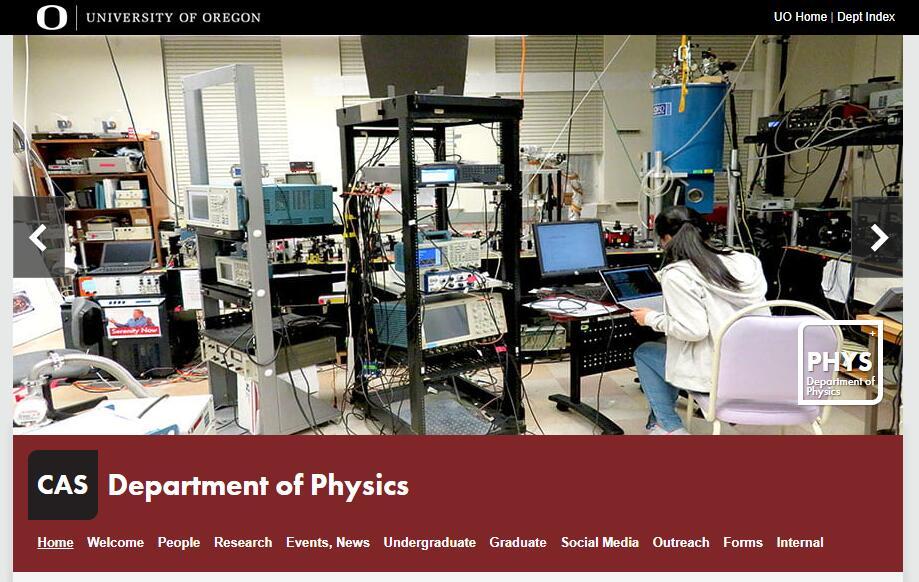 Top Physics Schools in Oregon