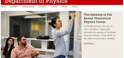 Top Physics Schools in Rhode Island