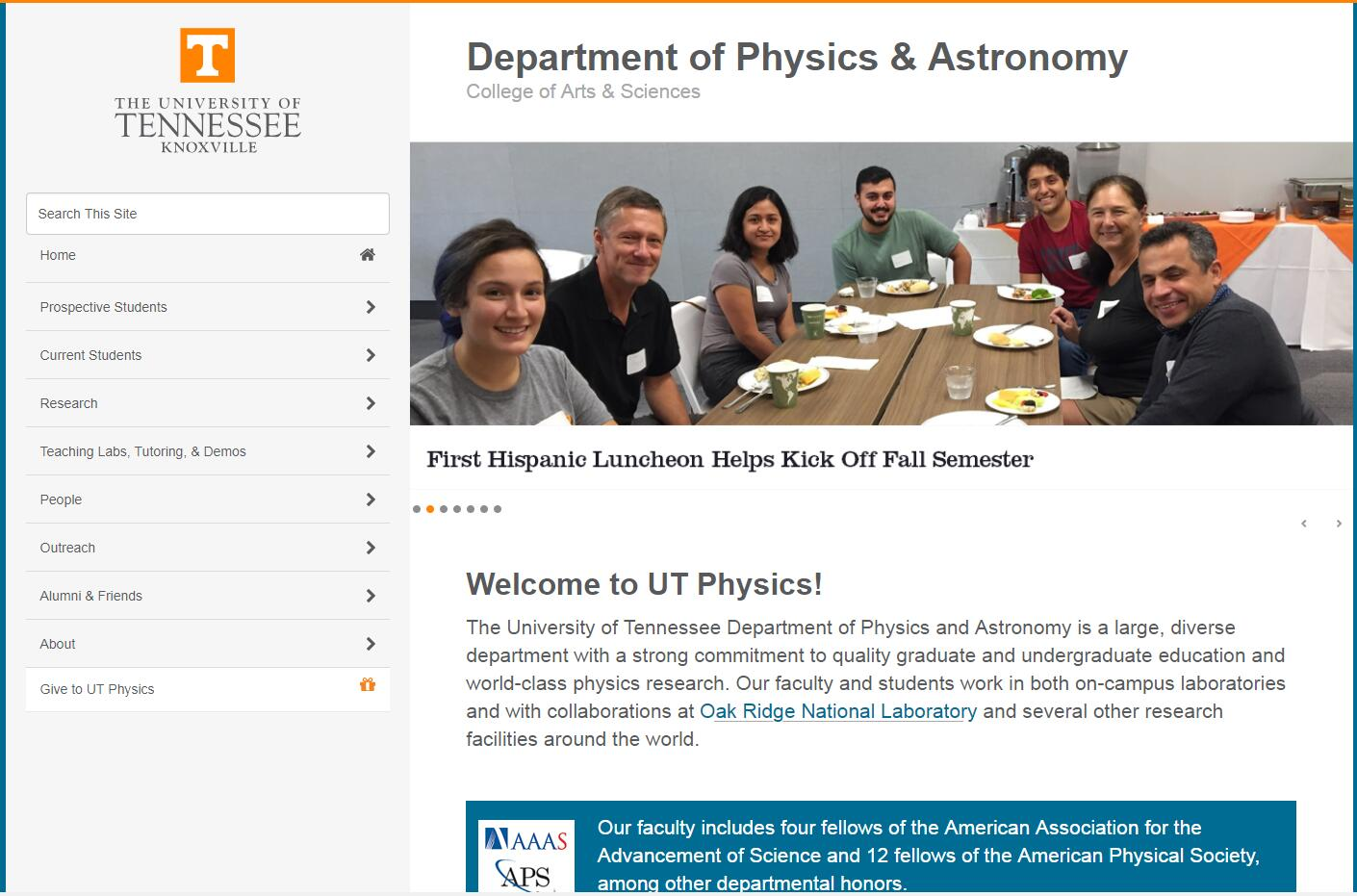 Top Physics Schools in Tennessee