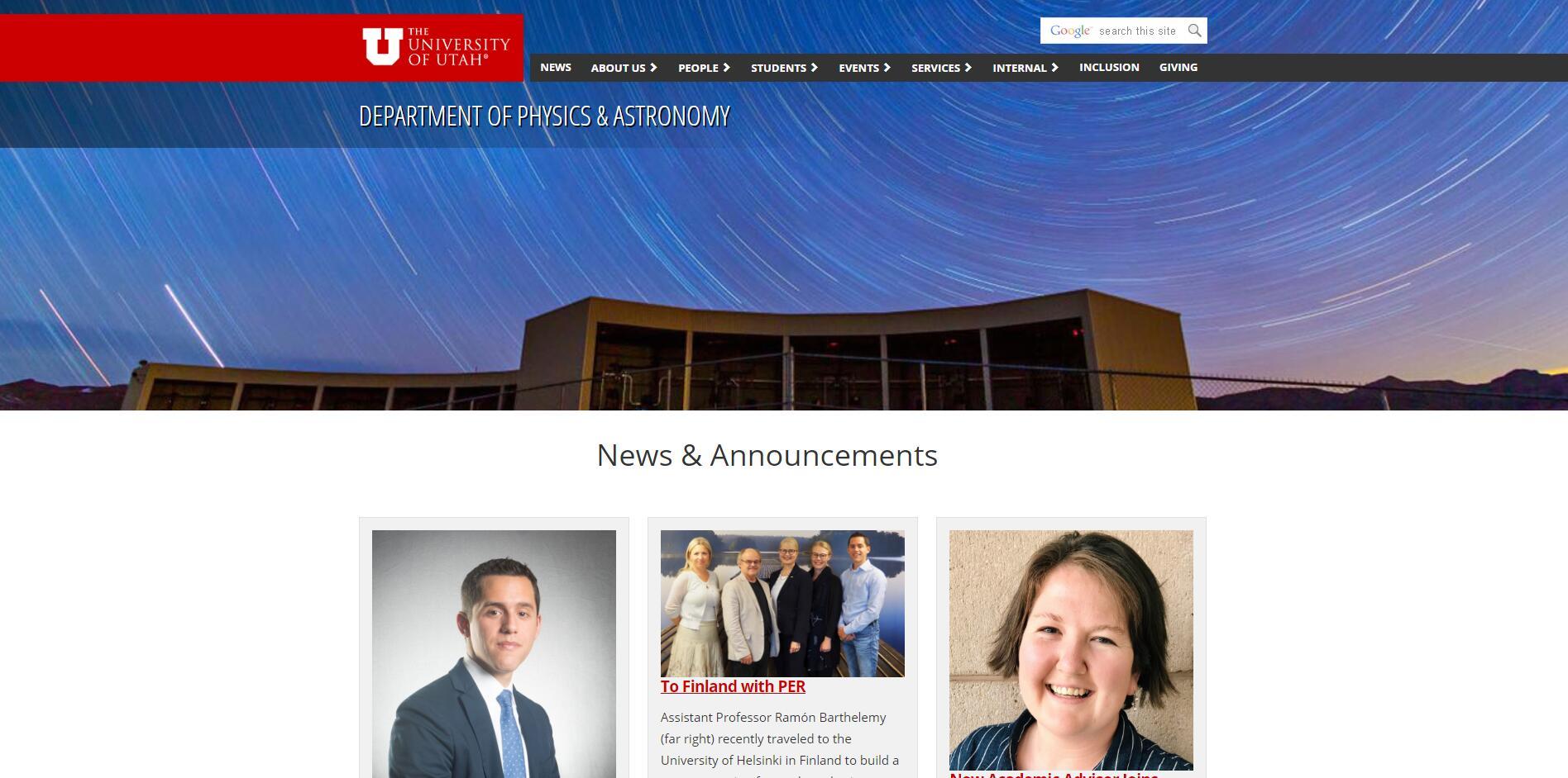 Top Physics Schools in Utah