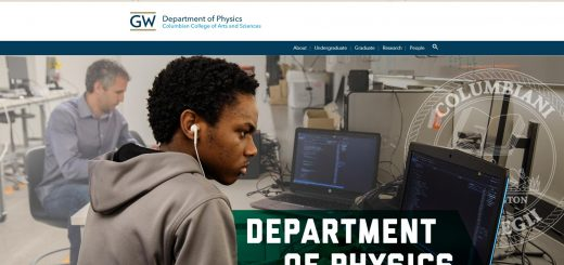 Top Physics Schools in Washington DC