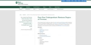 Tulane University Undergraduate Business