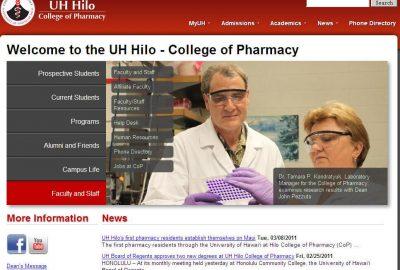 University of Hawaii-Hilo College of Pharmacy