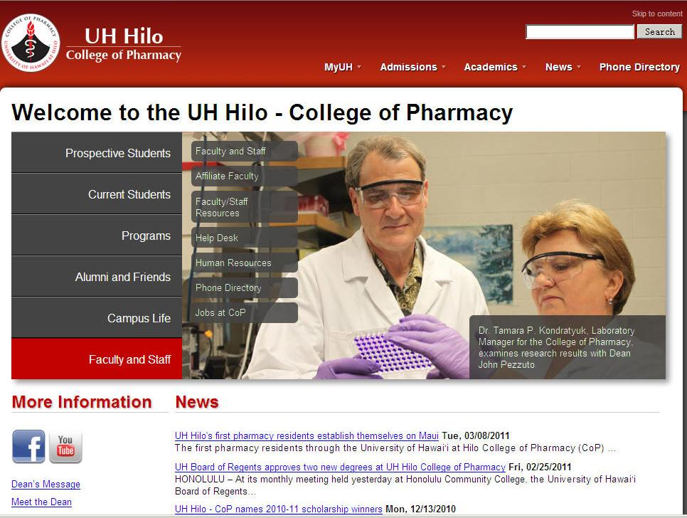 University of Hawaii-Hilo College of Pharmacy