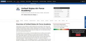 United States Air Force Academy Undergraduate Business