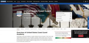 United States Coast Guard Academy Undergraduate Business