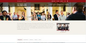 University of Alabama Undergraduate Business