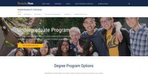 University of California-Berkeley Undergraduate Business