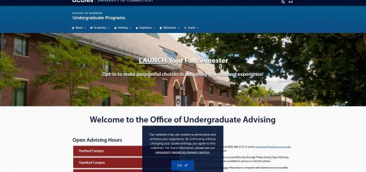 University of Connecticut Undergraduate Business