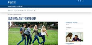 University of Delaware Undergraduate Business