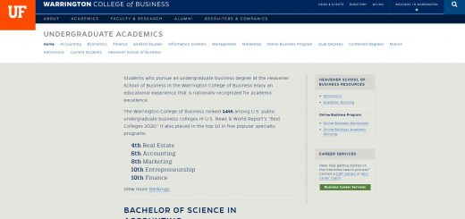 University of Florida Undergraduate Business