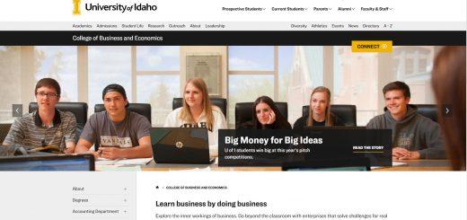 University of Idaho Undergraduate Business