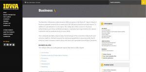 University of Iowa Undergraduate Business