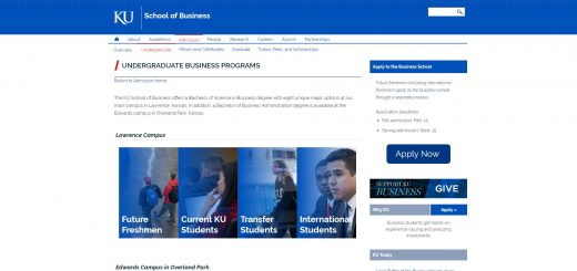 University of Kansas Undergraduate Business
