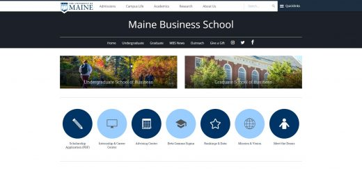 University of Maine Undergraduate Business