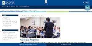 University of Memphis Undergraduate Business