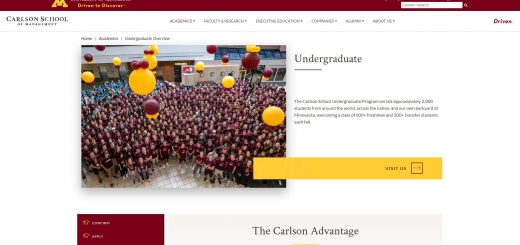 University of Minnesota-Twin Cities Undergraduate Business