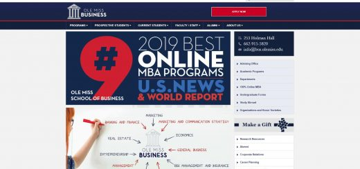 University of Mississippi Undergraduate Business