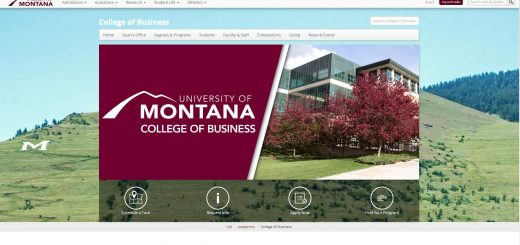 University of Montana Undergraduate Business